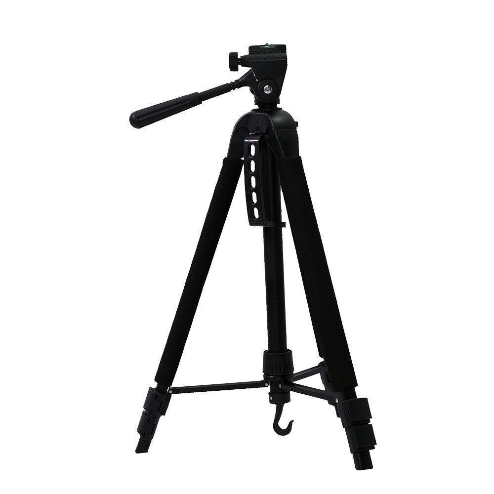 Tripé Nest KT-2020 147cm Cabeça 3 Vias para Câmeras e Filmadoras