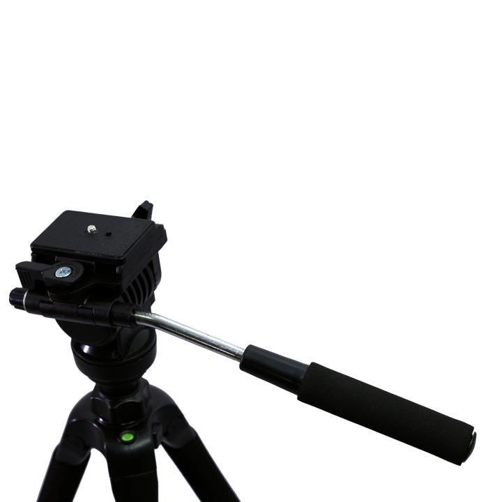 Tripé Nest KT-2880 166cm Cabeça Semi Hidráulica para Câmeras e Filmadoras  - Fotolux