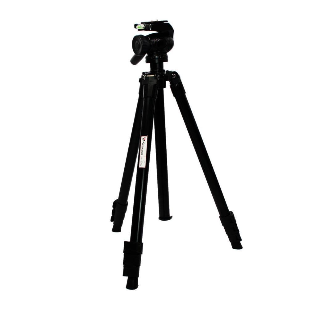 Tripé Weifeng WT6734 179cm com Cabeça Hidráulica para Foto e Vídeo