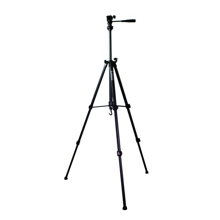 Tripé Weifeng WT-3220 135cm de Alumínio para Câmeras e Filmadoras