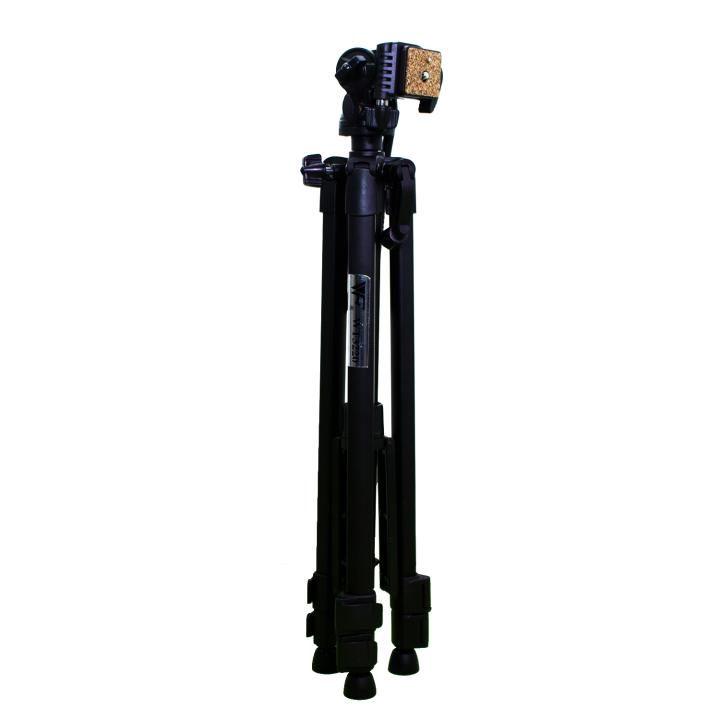 Tripé Weifeng WT-3220 135cm de Alumínio para Câmeras e Filmadoras  - Fotolux