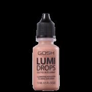 Lumi Drops GOSH 004 Peach - Iluminador Líquido 15ml