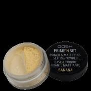 Prime'n Set Powder GOSH 002 Banana - Pó Solto Translúcido 7g