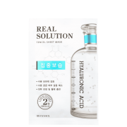 Real Solution Intensive Moisturizing Missha - Máscara Facial 25g