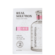 Real Solution Brightening Missha - Máscara Facial 25g