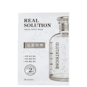 Real Solution Pure Whitening Missha - Máscara Facial 25g