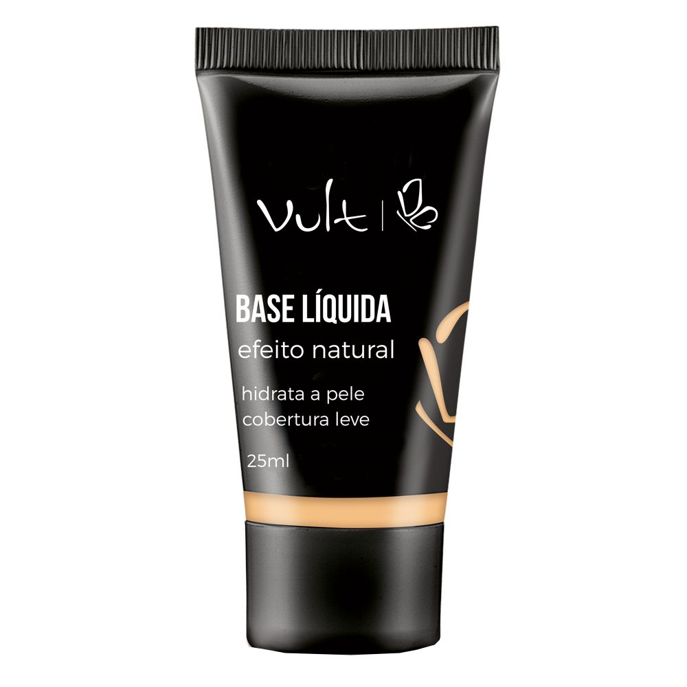 Base Líquida Efeito Natural Vult - 25ml