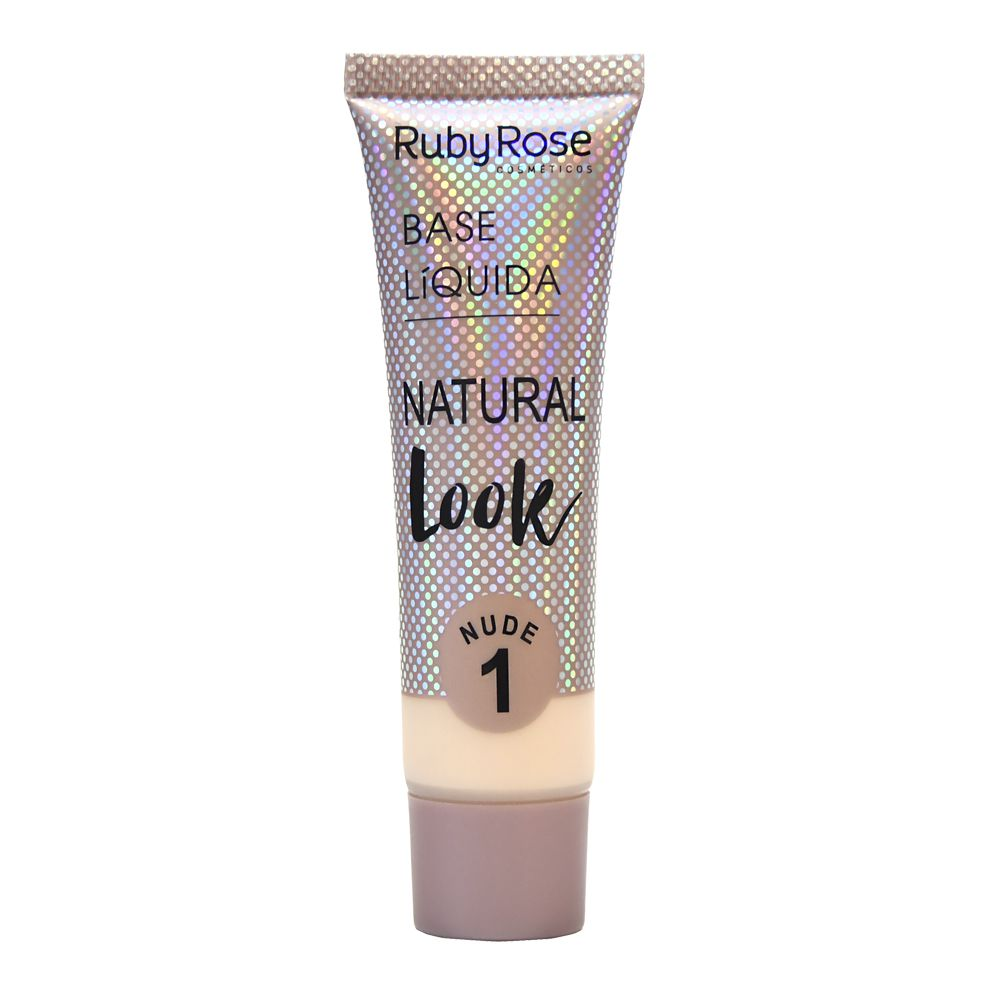 Base Líquida Natural Look - Ruby Rose 29ml