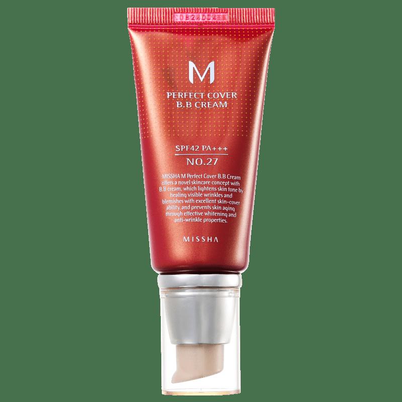 BB Cream Missha 27 - M Perfect Cover Honey Beige 50ml
