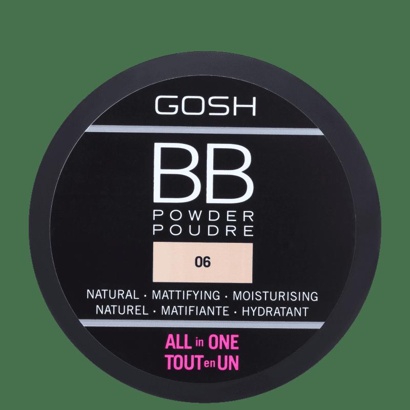 BB Powder GOSH 06 Warm Beige - Pó Compacto 6,5g