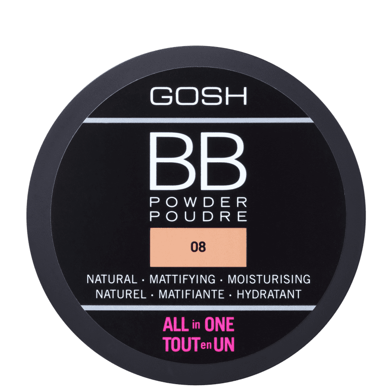 BB Powder GOSH 08 Chestnut - Pó Compacto 6,5g