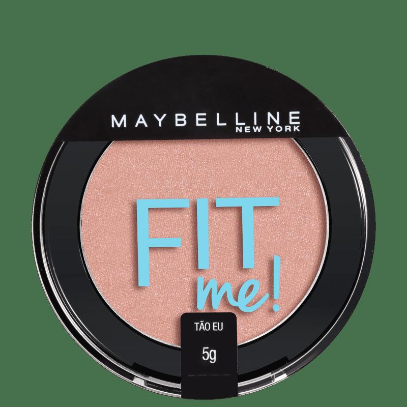 Blush Fit Me! Maybelline 01 Tão Eu - Blush Cintilante 5g