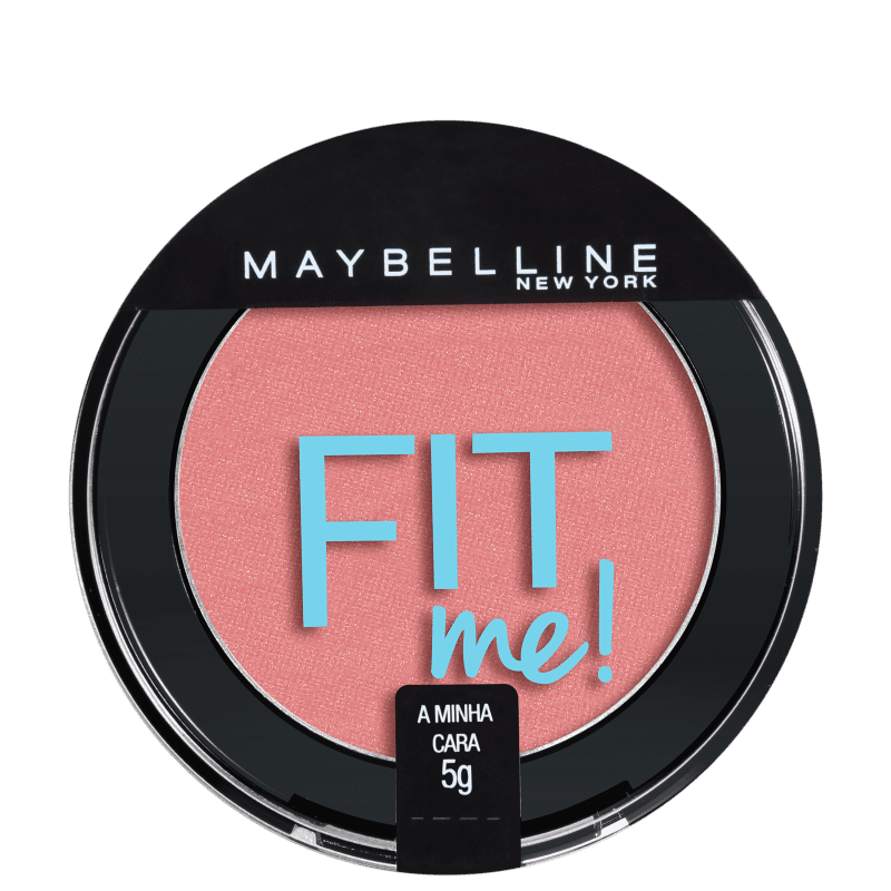 Blush Fit Me! Maybelline 02 A Minha Cara - Blush Cintilante 5g