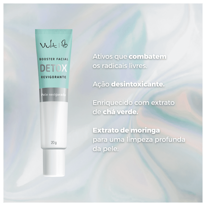 Booster Facial Detox Revigorante - Vult Anti-Idade 20g