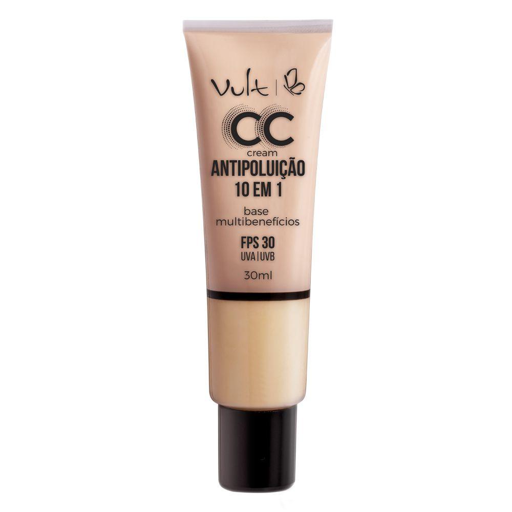 CC Cream Vult Antipoluição 10 em 1 - 30ml