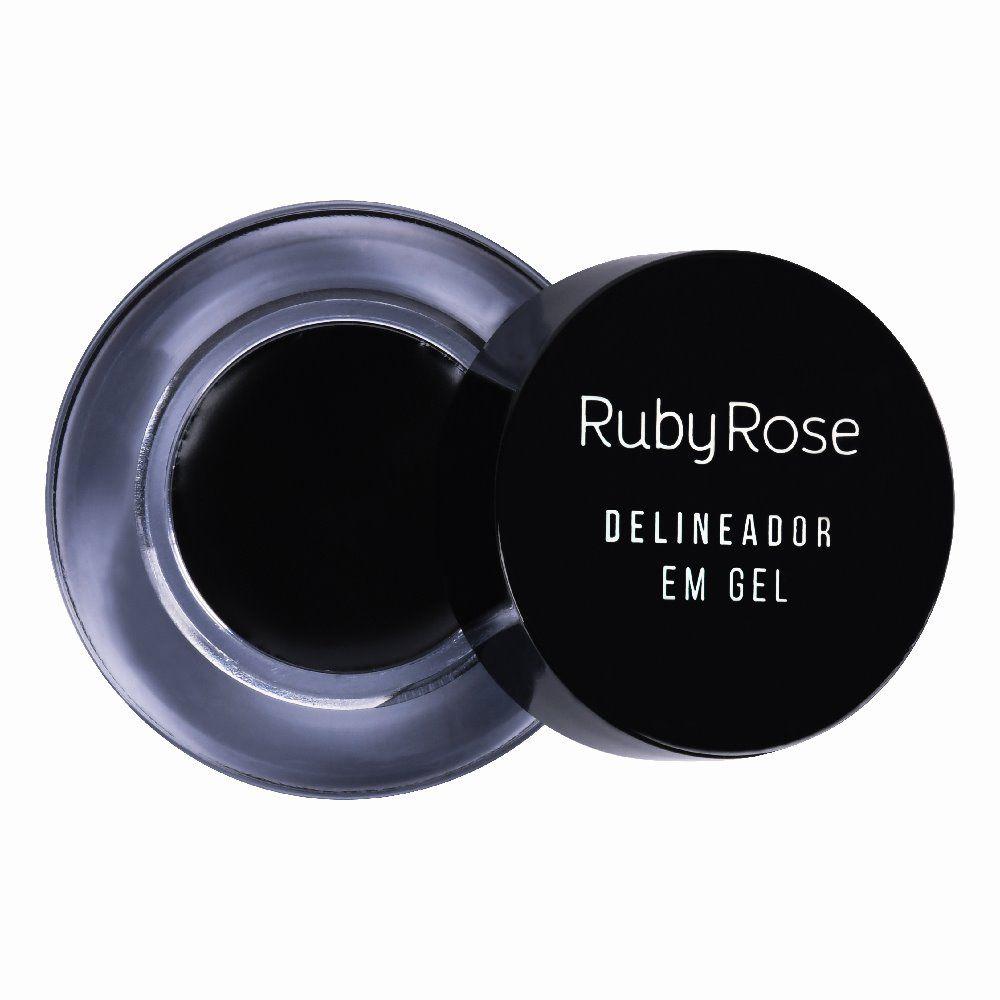 Delineador em Gel Ruby Rose - 3,3g