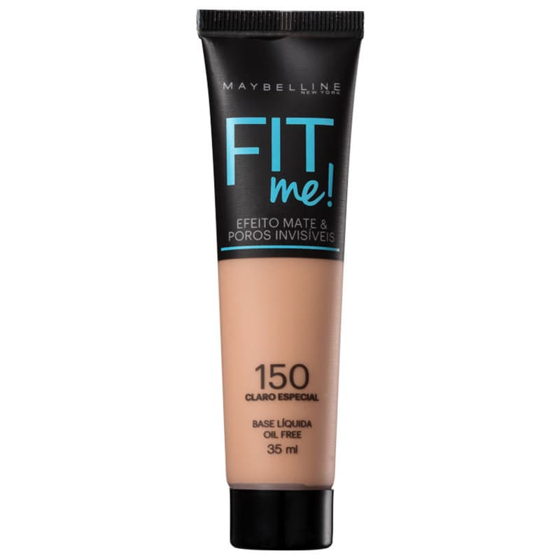 Fit Me! Toque Matte + Fresh Maybelline 150 - Base Líquida 35ml