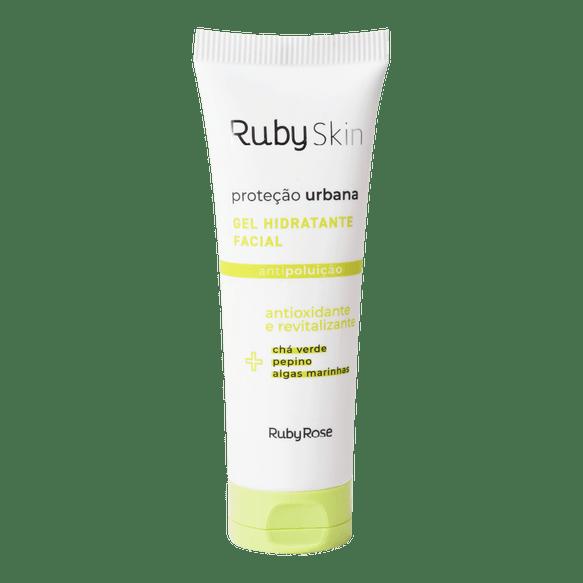 Gel Hidratante Facial Proteção Urbana Ruby Skin - Ruby Rose 50g