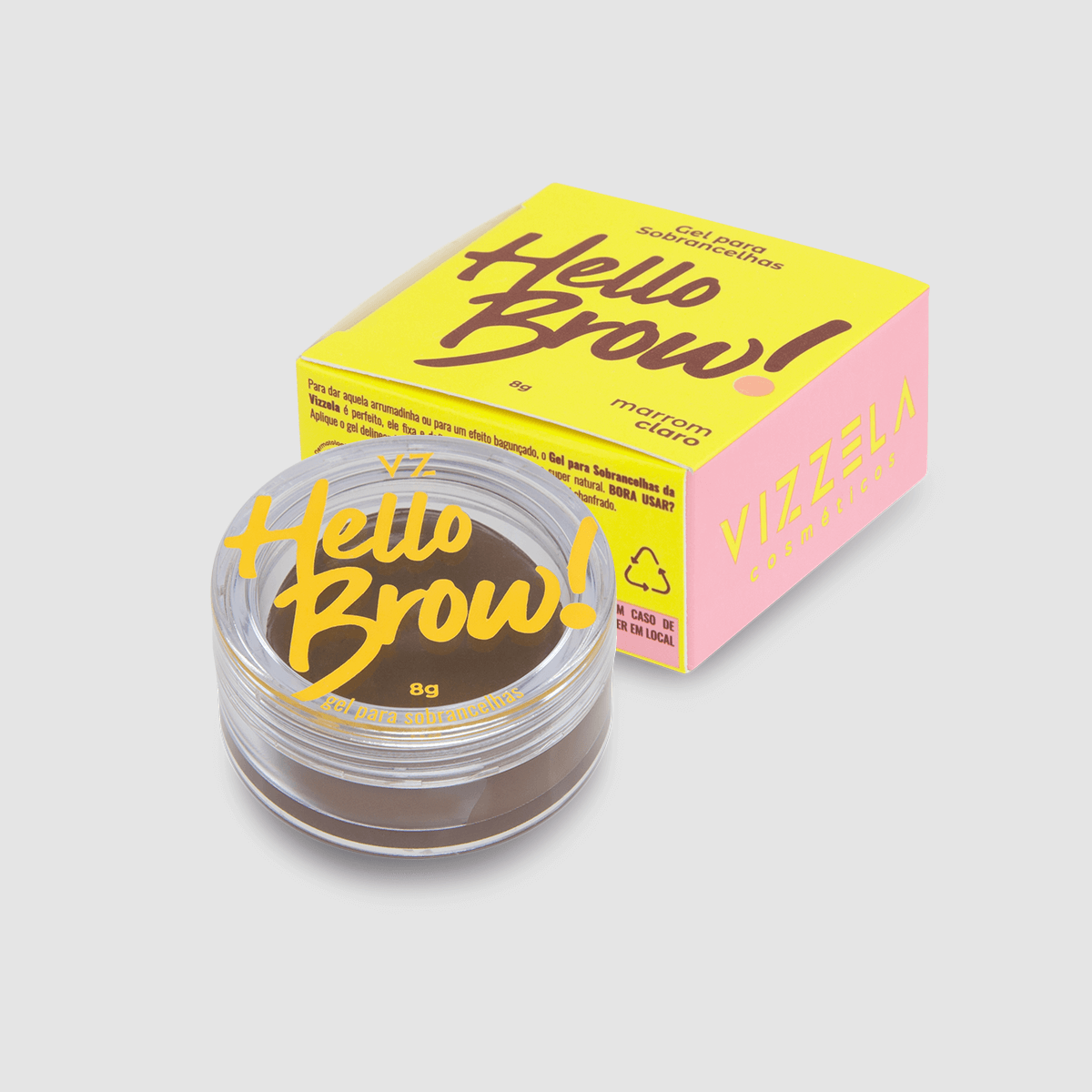 Gel para Sobrancelhas Hello Brow - Vizzela 8g