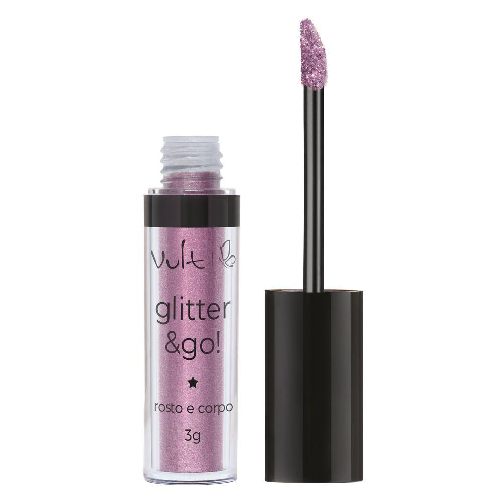 Glitter & Go Vult - Glitter para Rosto e Corpo 3g