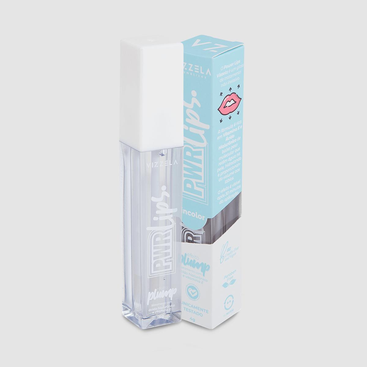 Gloss Power Lips - Vizzela 4g