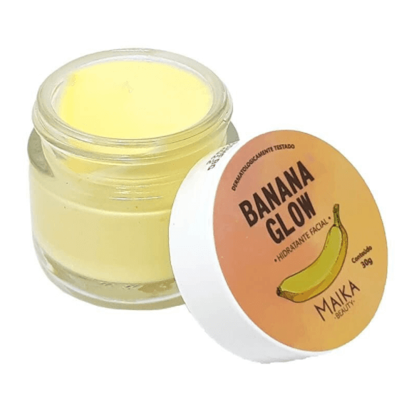 Hidratante Facial Banana Glow - Maika Beauty 30g