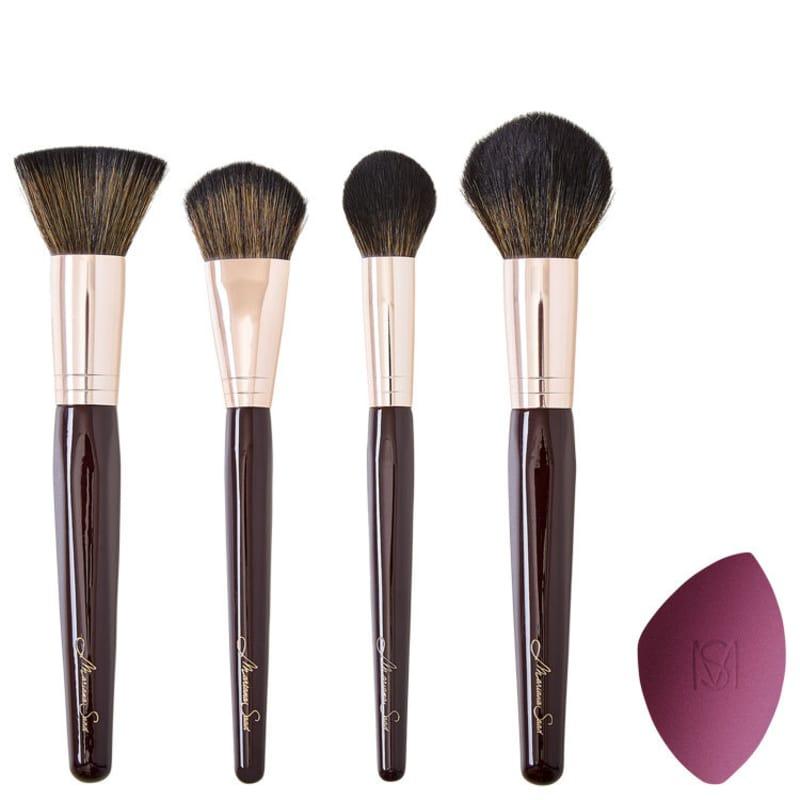Kit de Pincéis Mariana Saad - Face (5 produtos)