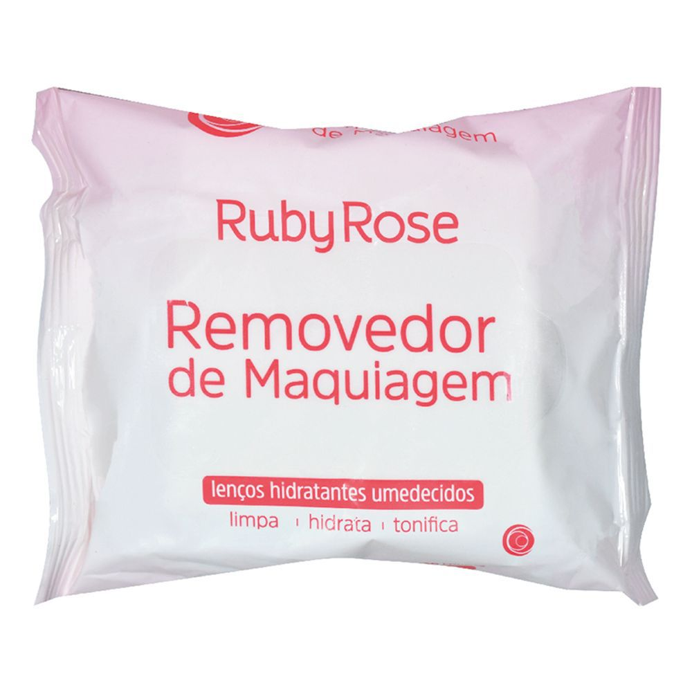 Lenço Demaquilante Ruby Rose - 25 un. 155g