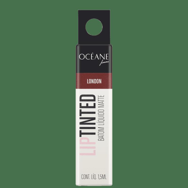 Lip Tinted London Océane - Batom Líquido Matte 1,5ml