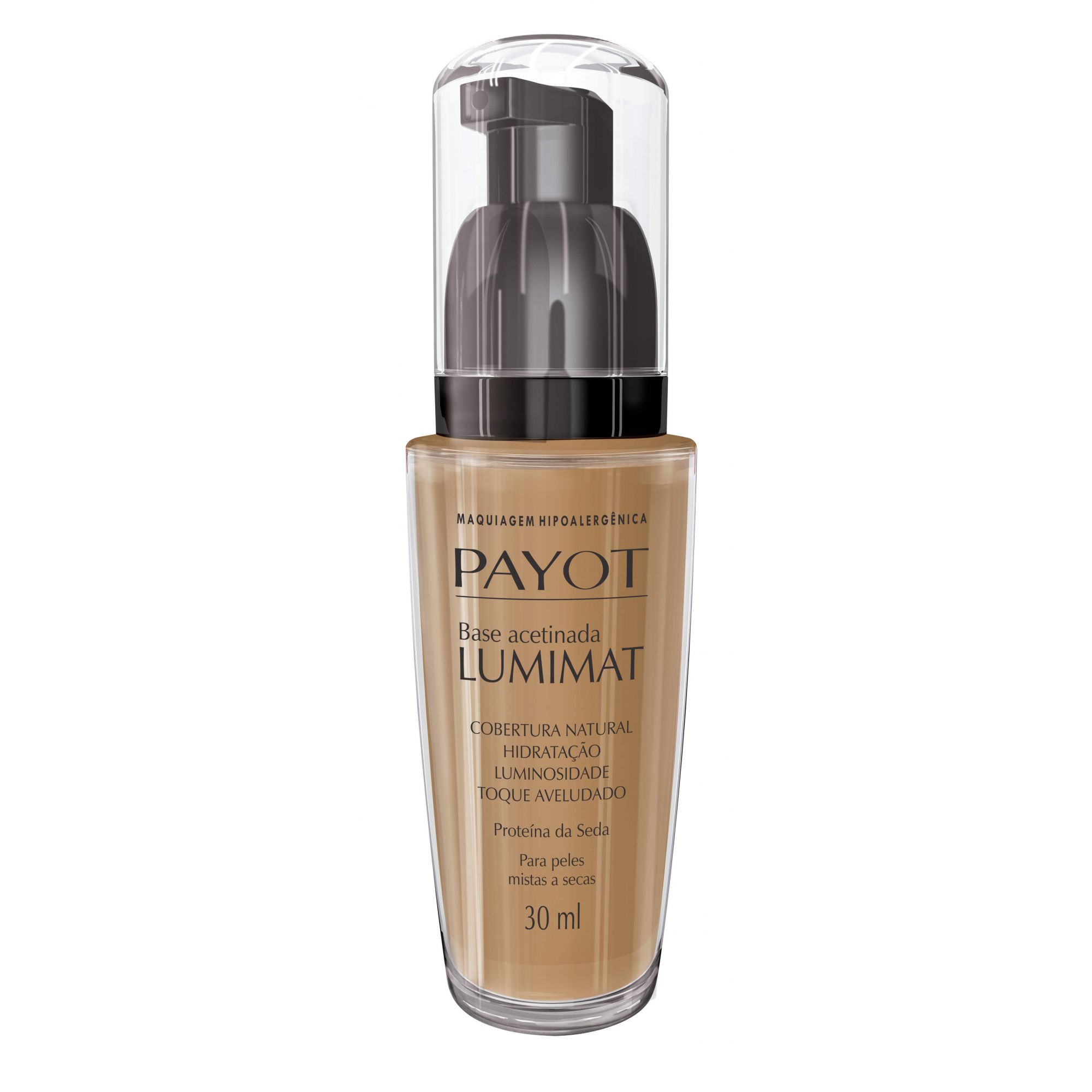 Luminant Base Líquida Payot Beige Doree - Base Líquida Acetinada 30ml