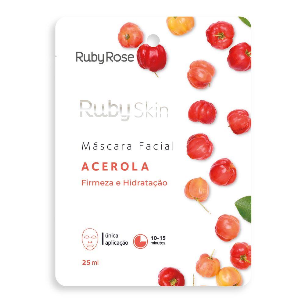 Máscara Facial Acerola - Ruby Rose