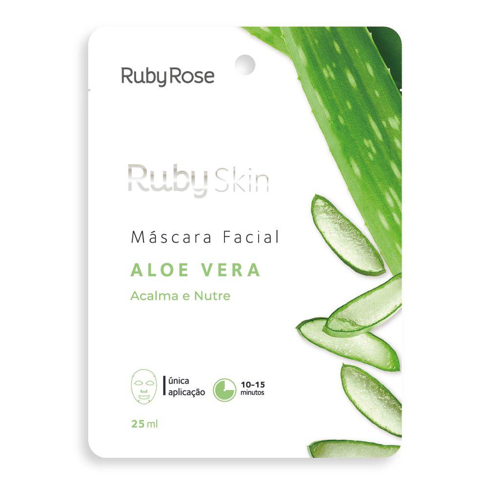 Máscara Facial Aloe Vera - Ruby Rose
