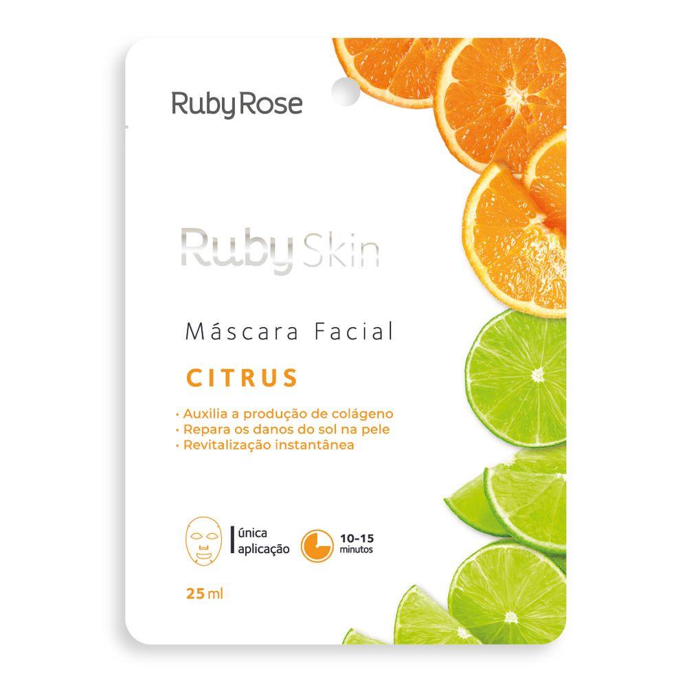 Máscara Facial Citrus - Ruby Rose