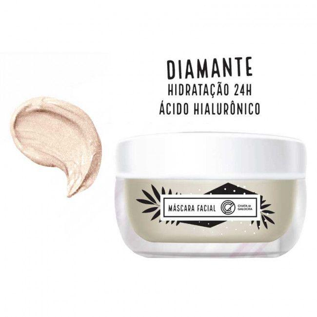 Máscara Facial Diamante - Chata de Galocha 40g