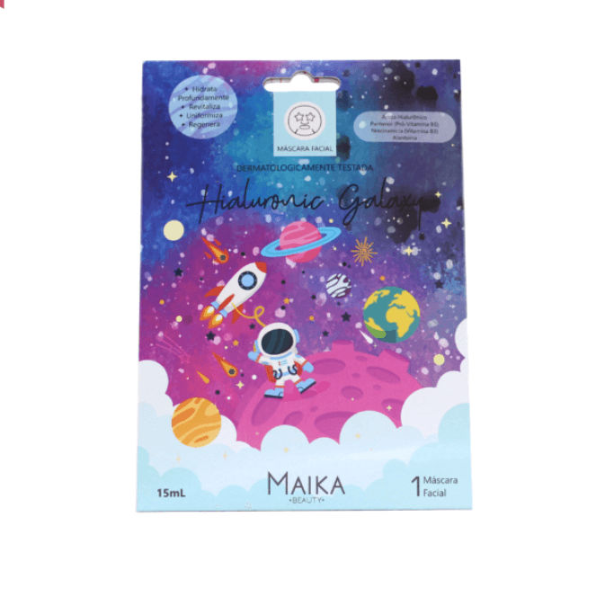 Máscara Facial Hialuronic Galaxy -  Maika Beauty 1un