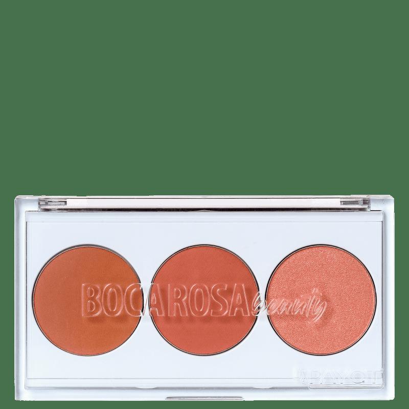 Paleta de Blushes Carinha de Metida  - Boca Rosa Beauty 7,5g