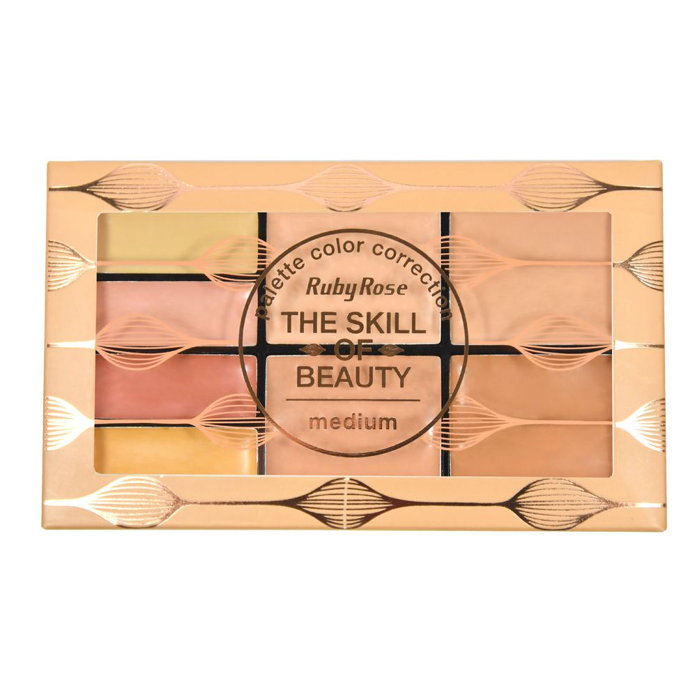Paleta de Corretivo The Skill Of Beauty - Ruby Rose 13,6g