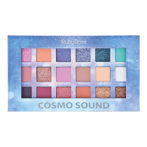 Paleta de Sombras Cosmo Sound - Ruby Rose 16g
