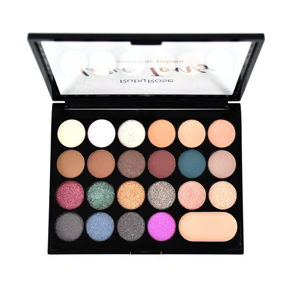 Paleta de Sombras Love Tons - 22 Cores Ruby Rose 16,5g