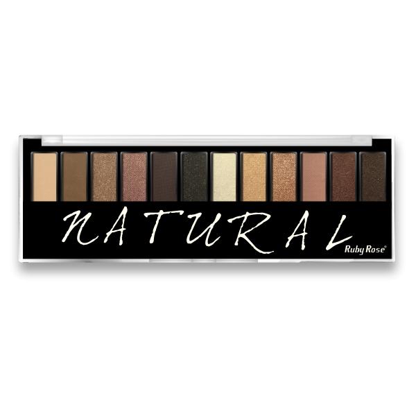 Paleta de Sombras Natural - Ruby Rose