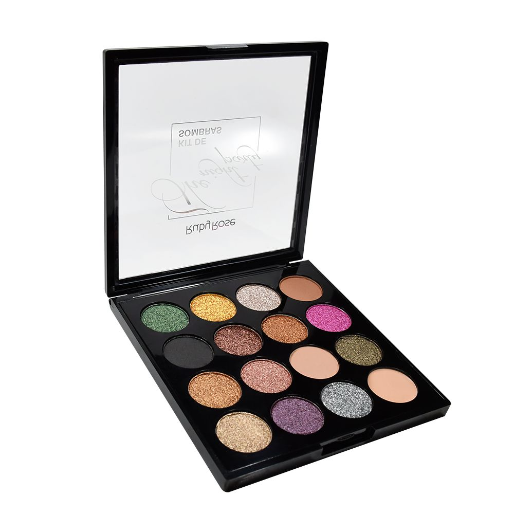 Paleta de Sombras The Night Party - 15 Cores Ruby Rose