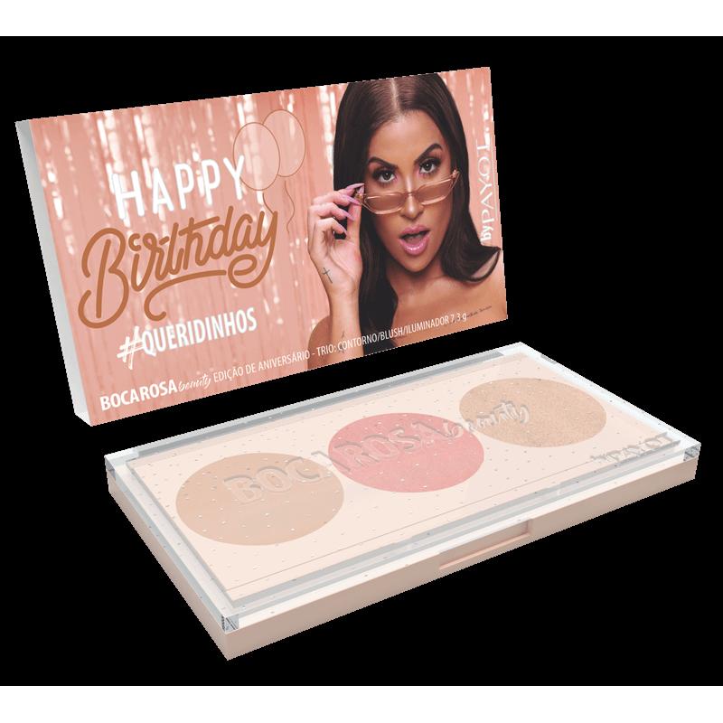Paleta #Queridinhos Boca Rosa Beauty - Edição de Aniversário 7,5g
