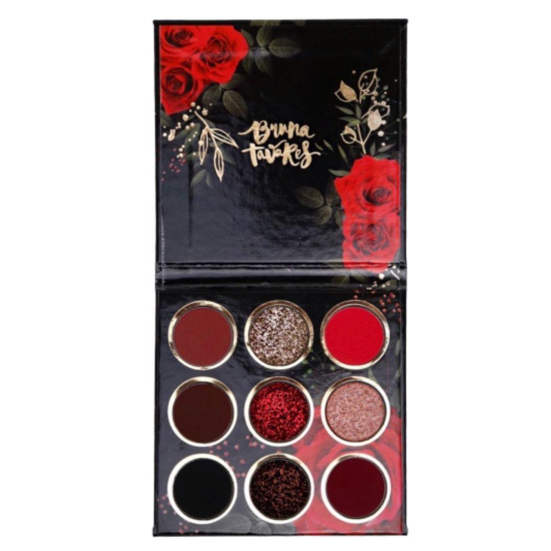 Paleta Red Rose Bruna Tavares - Paleta de Sombras 15g
