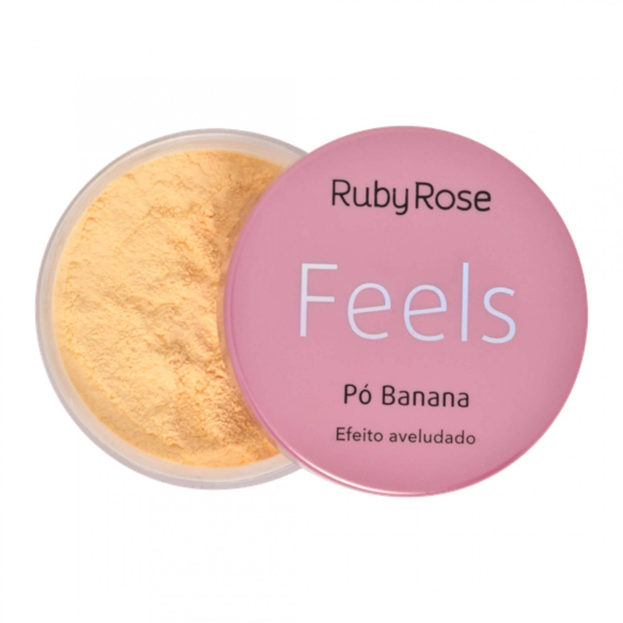 Pó Banana Feels Ruby Rose - 8,5g