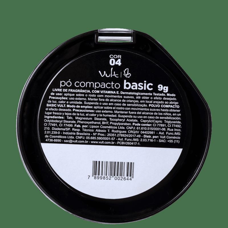 Pó Compacto Vult 04 - 9g