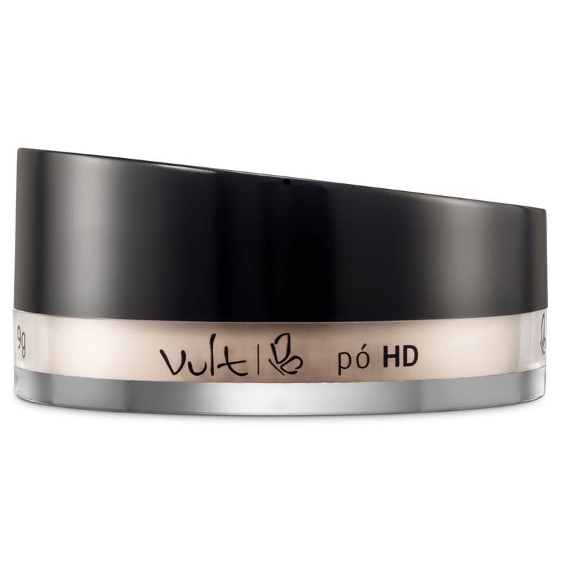 Pó Facial HD Vult - Pó solto Translúcido 9g