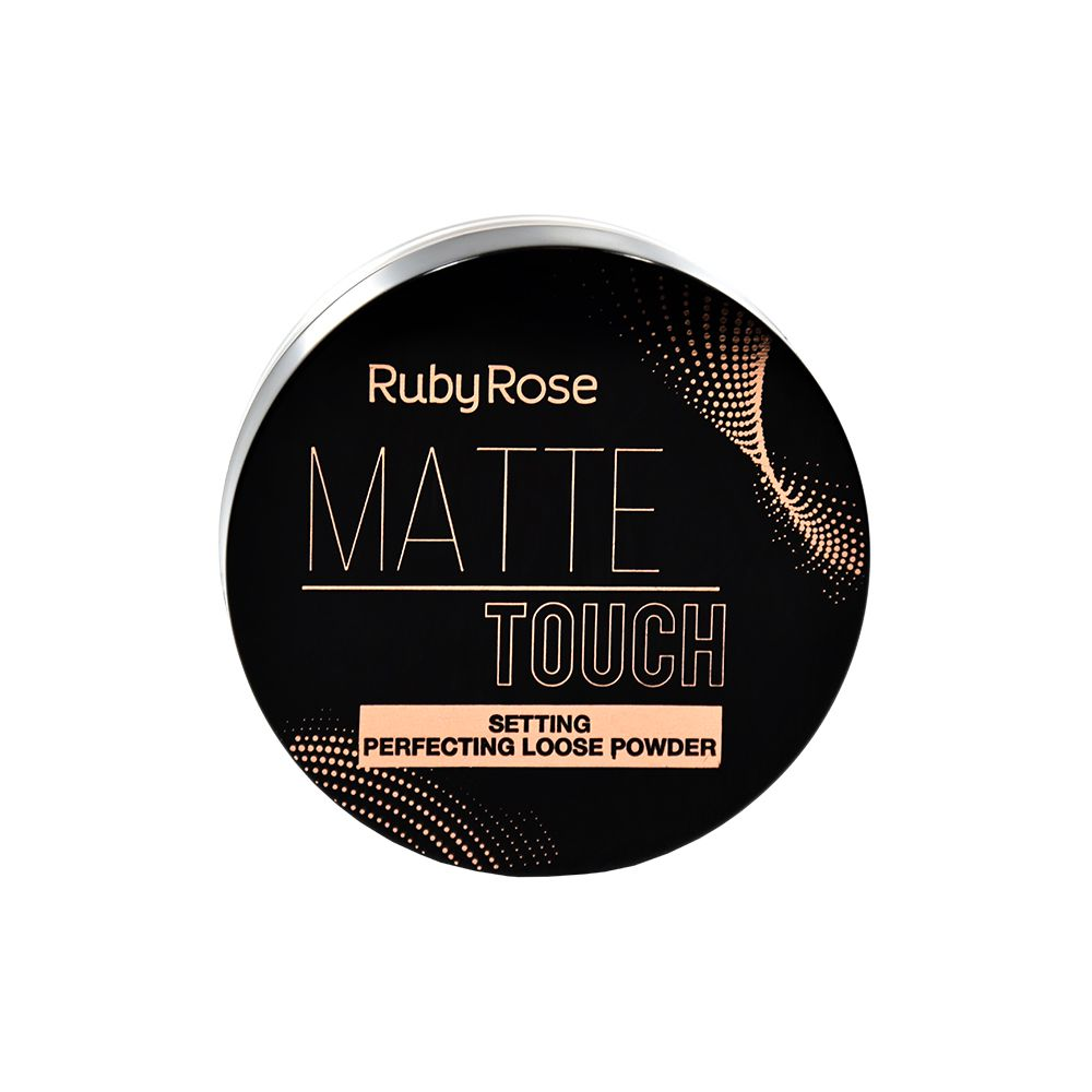 Pó Solto Matte Touch - Ruby Rose 8,5g