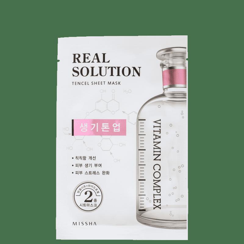Real Solution Brightening Missha - Máscara Facial 25g