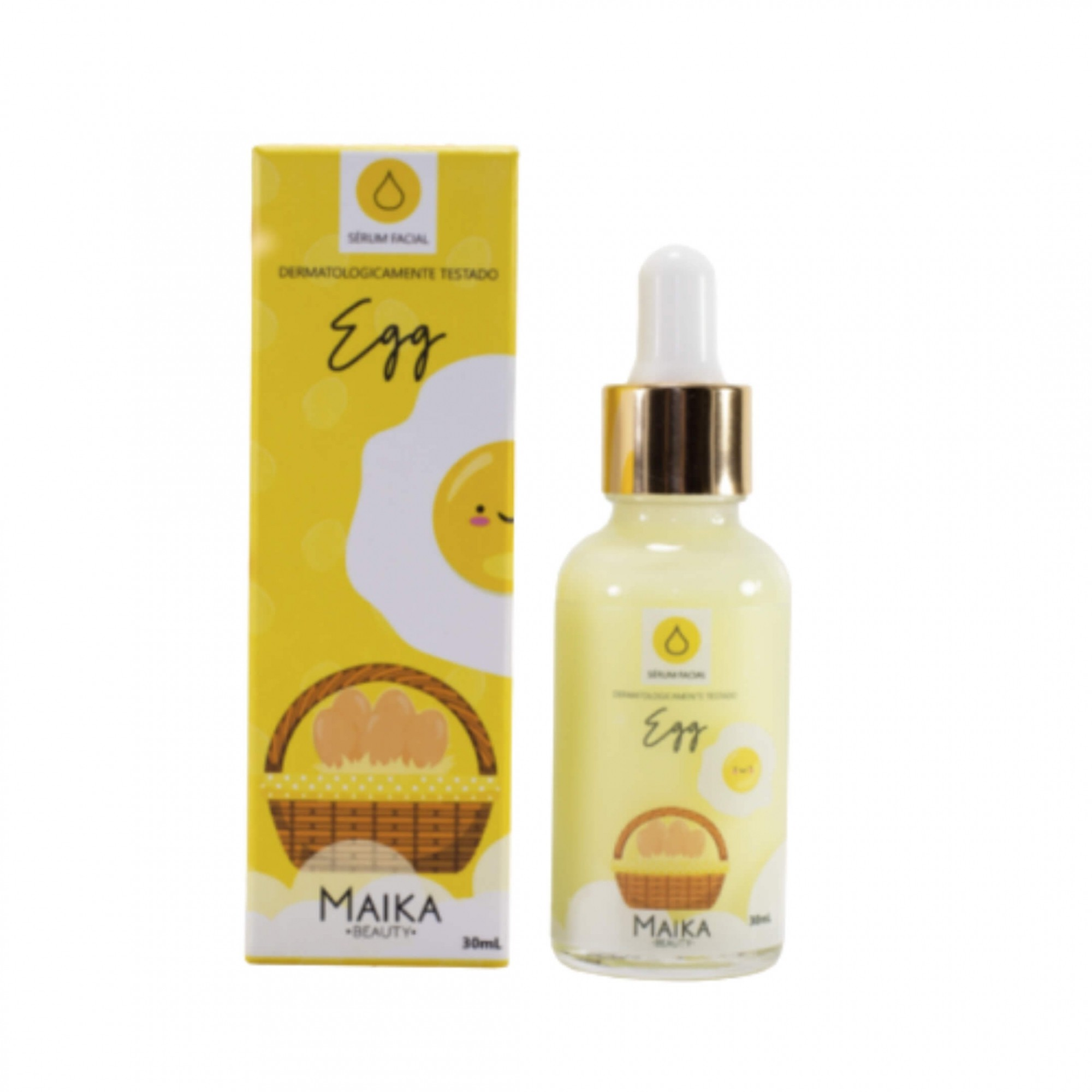 Sérum Facial Egg - Maika Beauty 30ml