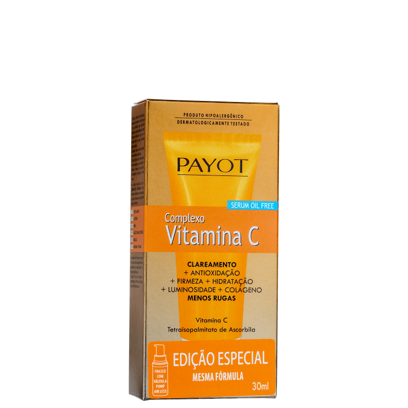 Serum Facial Vitamina C Payot - Complexo Vitamina C 30ml